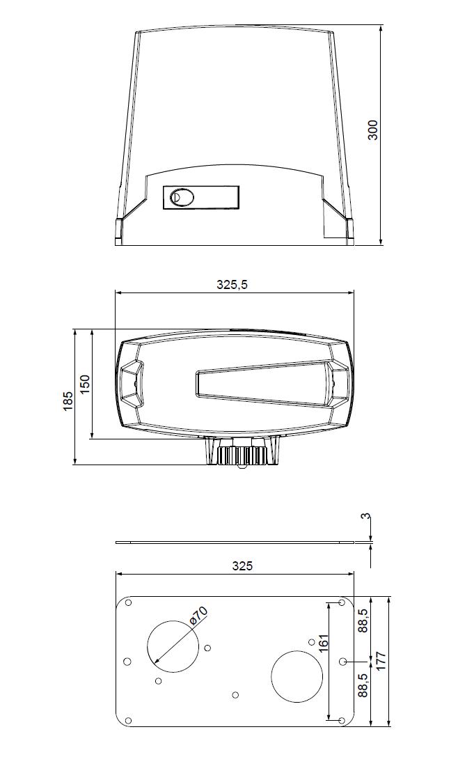 جک پارکینگ ریلی V2 وی تو مدل TORQ