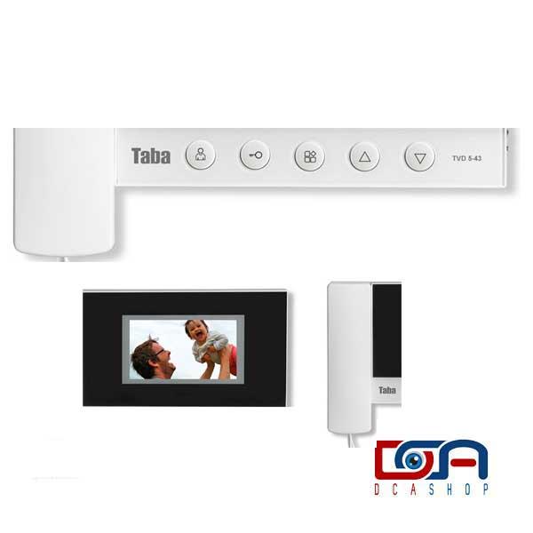 رابط کاربری آسان آیفون تصویری تابا مدل TVD-5-43