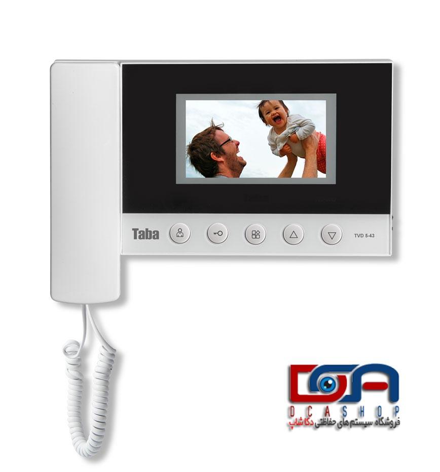 بررسی آیفون تصویری تابا TVD-5-43