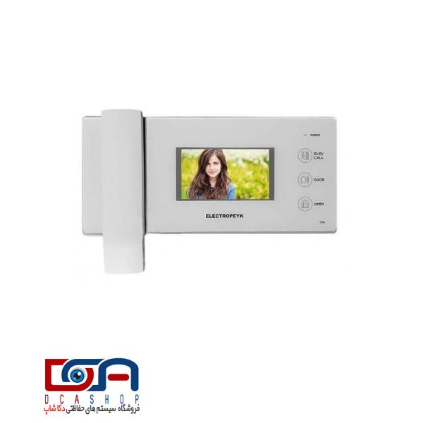 آیفون تصویری الکتروپیک 4.3 اینچ مدل 1096 سفید