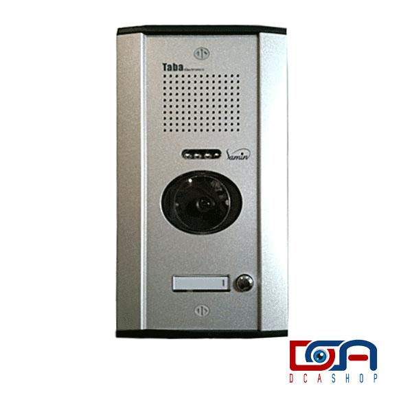 آیفون تصویری تابا مدل 2070 تک واحدی با پنل ثمین