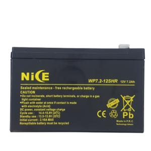 باتری 12 ولت 7.2 آمپر NICE