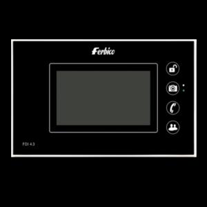 آیفون تصویری حافظه دار فربیکو 4.3 اینچ مدل 104آنالوگ