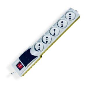 محافظ ولتاژ پنج راه بدون ارت مایسا کد MP347