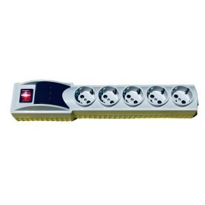 محافظ ولتاژ پنج راه ارت دار مایسا کد MP247
